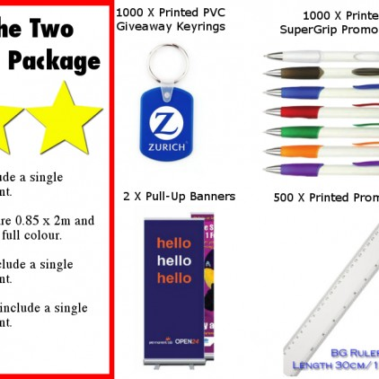 Two Star Trade Stand Package