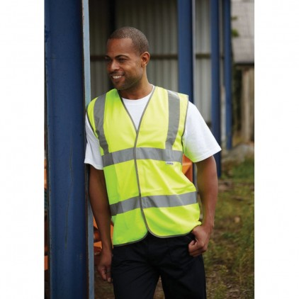 Dickies BS EN471 Highway Safety Waistcoat
