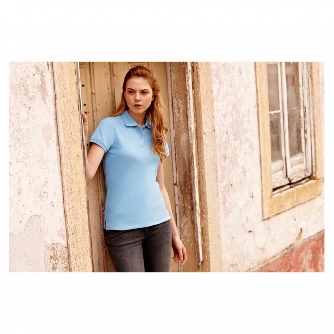 Fruit of the Loom Lady Fit 100 per cent Cotton Polo