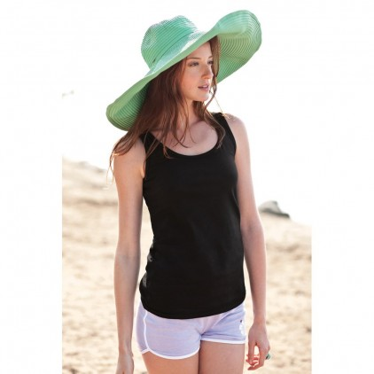 Gildan 64200L Ladies Tank Top 100 per cent Cotton